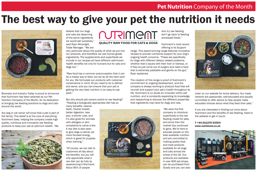 The Best Way To Give Your Pet The Nutrition It Needs